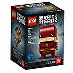 樂高積木LEGO《LT41598》2018年Brickheadz積木人偶系列-閃電俠