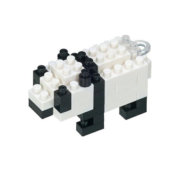 《NanoBlock迷你積木》NBS-002Mini熊貓