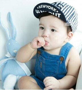 嬰幼兒棒球帽軟沿鴨舌帽寶寶帽寶寶遮陽防曬必備BU11139好娃娃