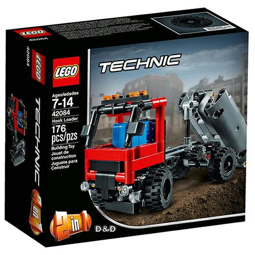 樂高積木LEGO《LT42084》2018年科技Technic系列-勾臂卡車