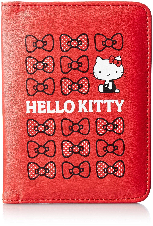 X射線【C529446】Hello Kitty 護照套(紅),旅行箱/行李箱/拉桿箱/購物箱/綁帶