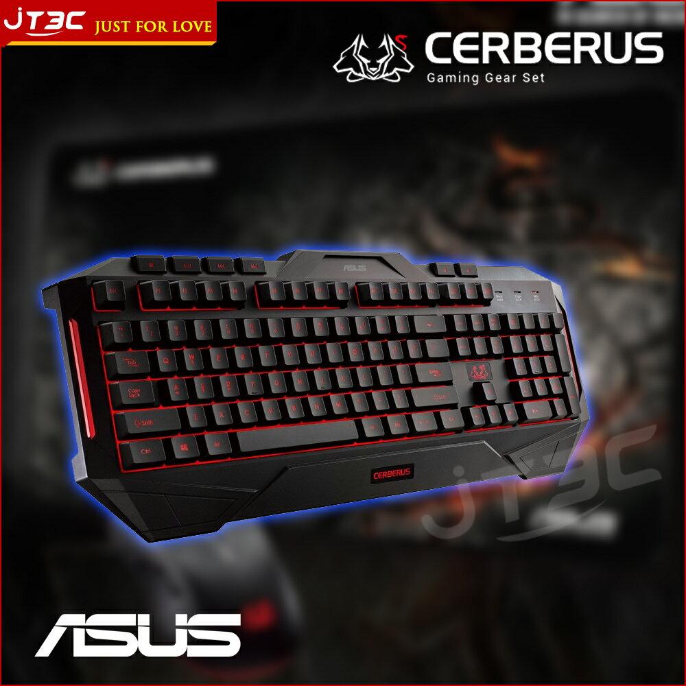 【滿3千10%回饋】ASUS 華碩 Cerberus 賽伯洛斯電競鍵盤
