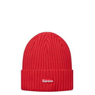 【EST】Supreme SS17BN3 Overdyed Ribbed Beanie 毛帽 紅 [SU-5006-069] H0525