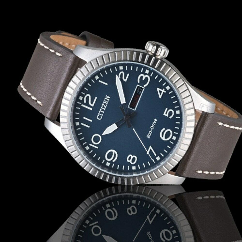 CITIZEN星辰GET;S復古時尚光動能限量腕錶  BM8530-11L