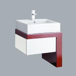 HCG臉盆浴櫃/不含水龍頭 /L400SAdb+LCP6058FRS