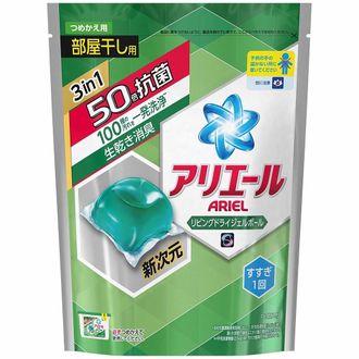 現貨「P&G」超好用!3D立體消臭洗衣球補充包6包(18顆 / 包,共108顆) 0