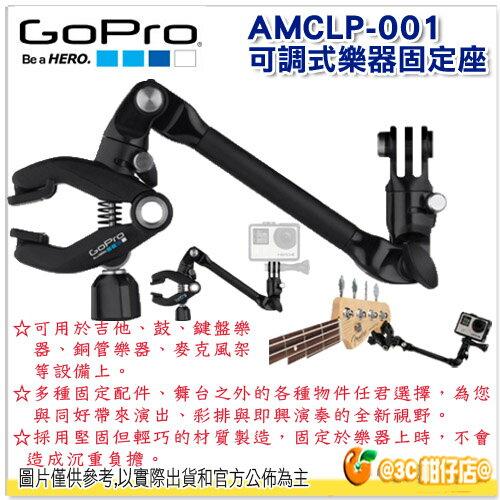 GoPro AMCLP-001 可調整樂器固定座  公司貨 固定底座 The Jam Adjustable Music Mount
