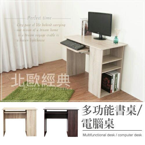 生活大發現-DIY家具-H-多功能書桌/電腦桌-二色可選