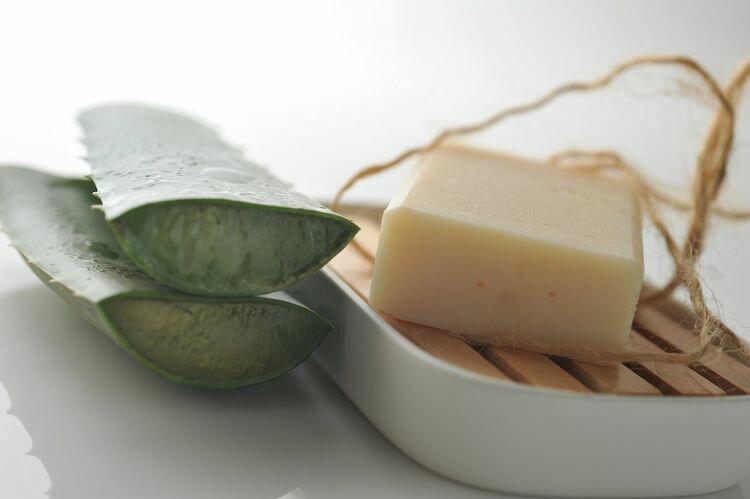 【康健天地】秋岡。蘆薈薄荷皂
