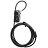 【BOSVISION 博士威】多功能輕巧四字輪防盜鋼纜密碼鎖(8746) 0