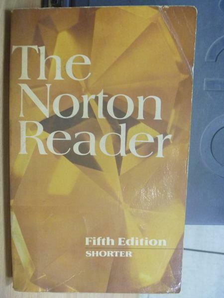 【書寶二手書T5/原文小說_MGT】The Norton Reader_5/e