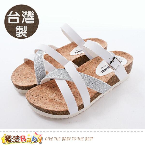 女鞋台灣製時尚流行拖鞋魔法Baby~sd8063