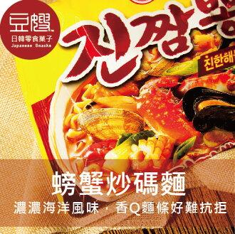 【豆嫂】韓國泡麵 不倒翁 螃蟹炒碼麵