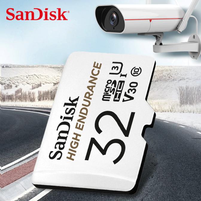 SanDisk HIGH ENDURANCE 高耐久 MicroSD V30 U3 4K 行車紀錄/監視器專用記憶卡
