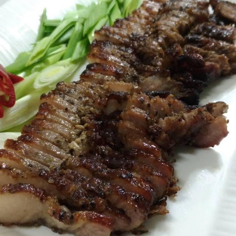 下酒 下飯 必備!加熱即食 客家鹹豬肉 肥瘦均勻
