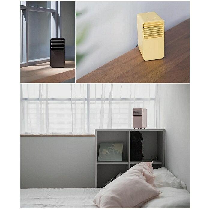 正負零迷你陶瓷電暖器-黃色 7