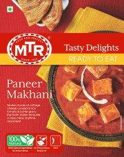 印度蕃茄奶酪即食調理包  Paneer Makhani MTR 300gm