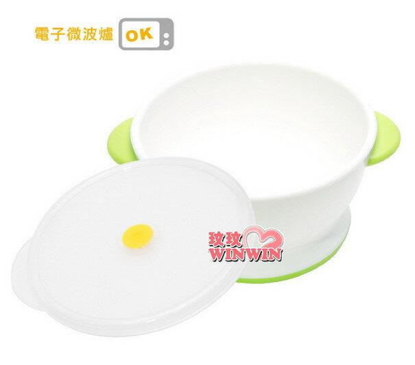 日本利其爾Richell-210017 ND飯碗(附帶微波爐用蓋)可含上蓋微波爐使用