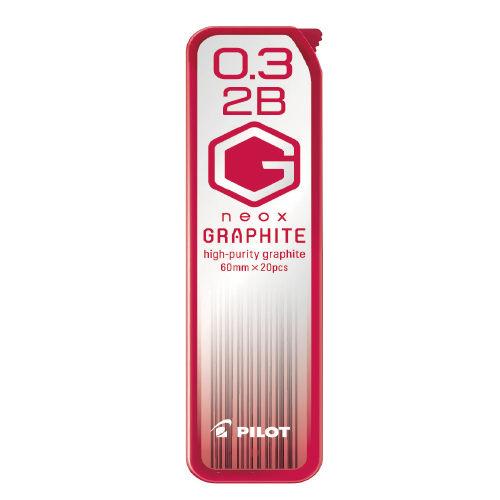 【百樂 PILOT 筆芯】HRF3G-20 HB/2B 超級G 自動筆芯 (0.3mm)