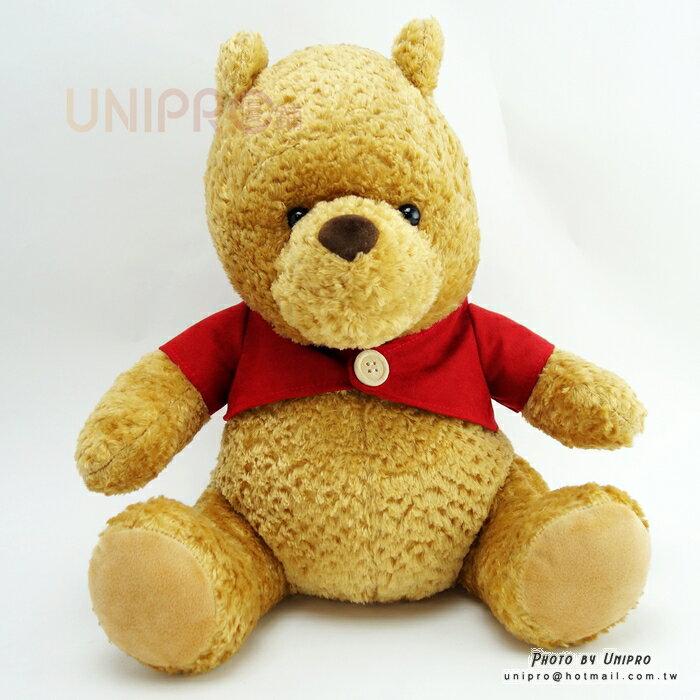 【UNIPRO】古典小熊維尼 坐姿 絨毛玩偶 娃娃 Classic Pooh 禮物 摯友維尼 迪士尼正版授權