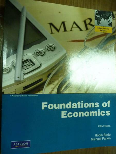 ~書寶 書T3/大學商學_PNE~Foundations of Economics_Bad