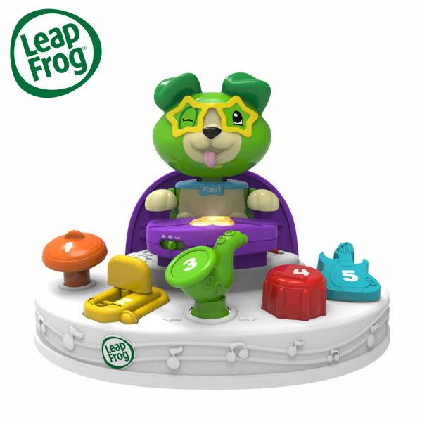 YODEE 優迪嚴選:LeapFrog美國跳跳蛙Scout's繽紛樂團兒童學習玩具早教玩具(適合6個月以上)