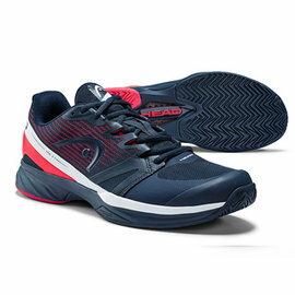 【H.Y SPORT】HEAD SPRINT PRO 2.5 男款網球鞋/休閒鞋/運動鞋 273109 (深藍/紅)