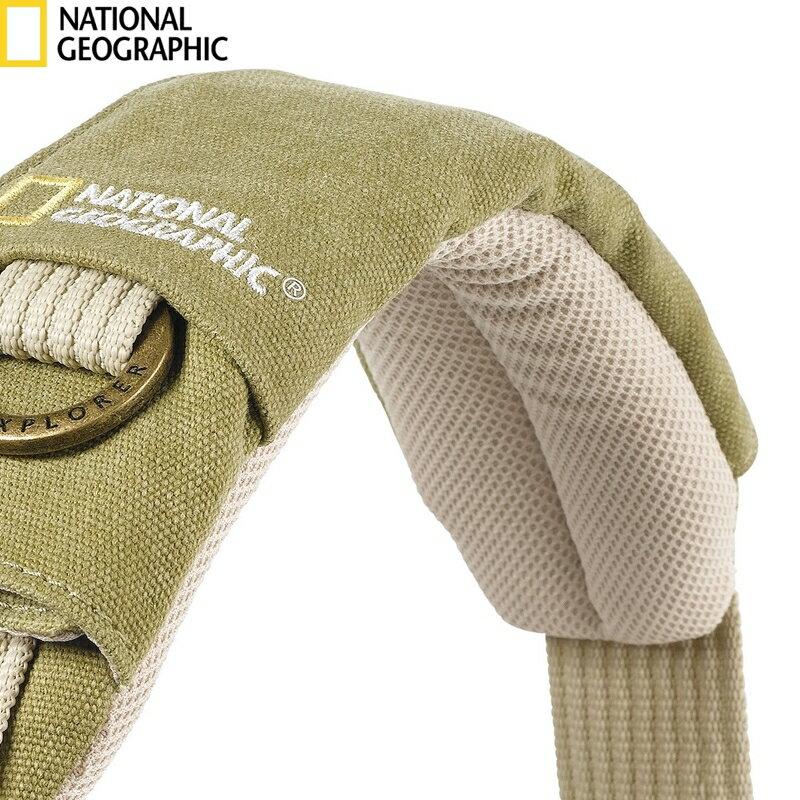 我愛買#National Geographic國家地理探險系列相機背帶肩墊NG7300肩墊減壓相機揹帶肩墊相機揹帶減壓肩墊NG相機背帶減壓墊肩7300肩帶墊相機袋肩墊相機包肩墊攝影包肩墊(讓攝影包學校..