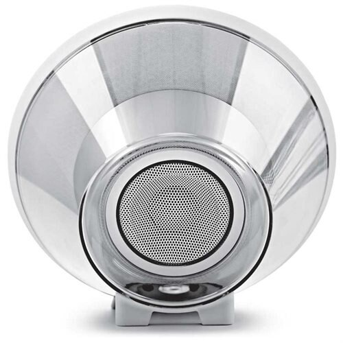 JBL Voyager Portable Bluetooth Speaker (White) 2