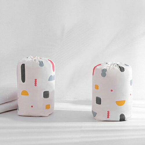 PS Mall 圓筒束口收納袋 棉被收納袋 大容量居家雜物收納防塵袋【J521】 3