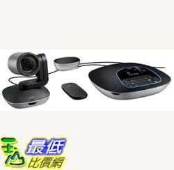 [7美國直購] Logitech Group HD Video and Audio Conferencing System for Big Meeting Rooms B01B4SNM92