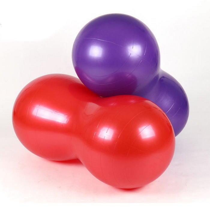 加厚瑜珈花生球90X45健身球 膠囊球 瑜珈球 體操球 塑身球 瑜伽球 韻律球 彈力球【DC180】◎123便利屋◎