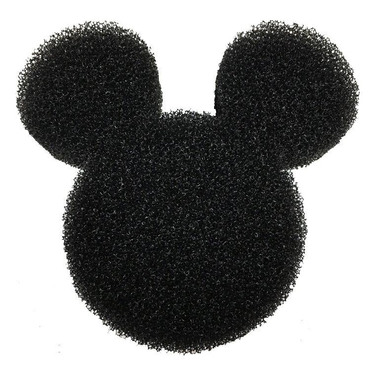 韓國製 迪士尼 米奇Mickey 頭型海綿 造型海綿 肥皂墊 瀝水 浴室用品 韓國進口正版 096344
