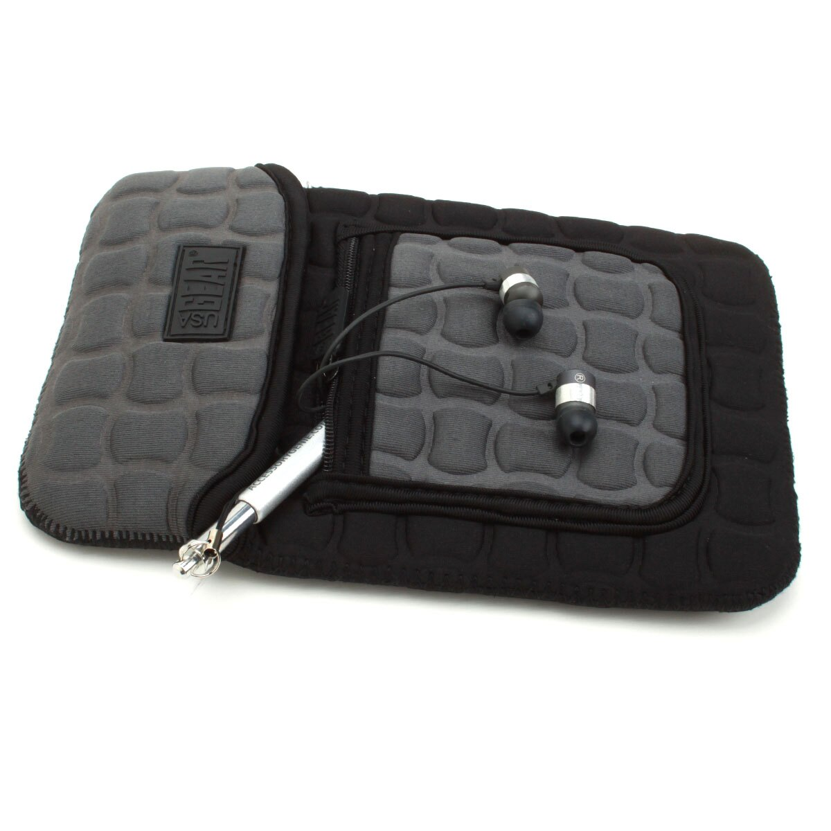 FlexARMOR X Neoprene Tablet Sleeve Case with Carrying Handle , Shock Protection & Accessory Pocket 3