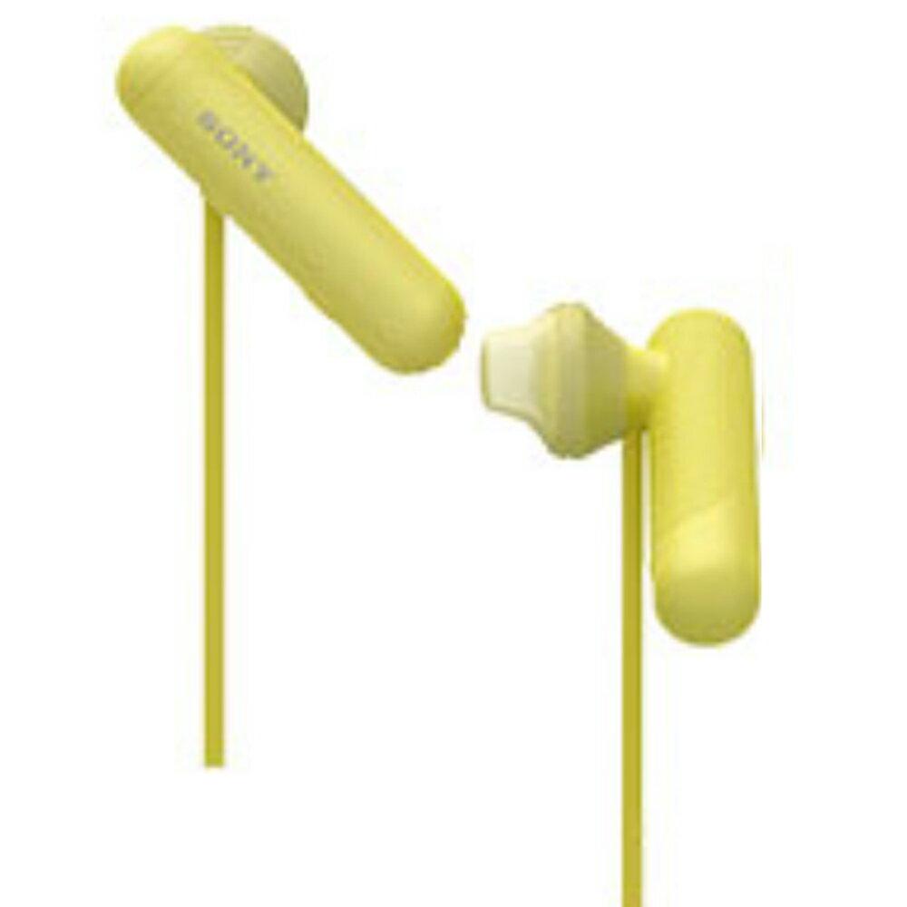 促銷 ▶  SONY 防水運動耳機 WI-SP500 黃色 全新品 公司貨 免運 分期 1