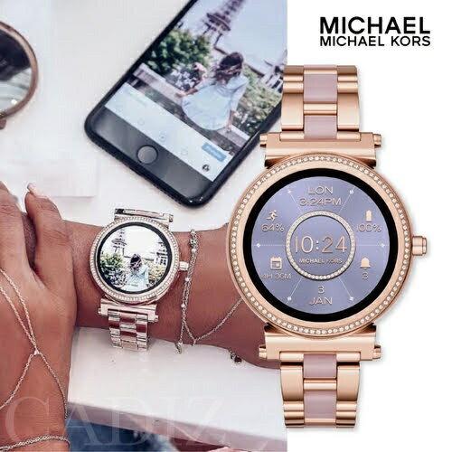 現貨 美國正品 Michael Kors 玫瑰金智慧女錶 Access Sofie smartwatch MKT5041