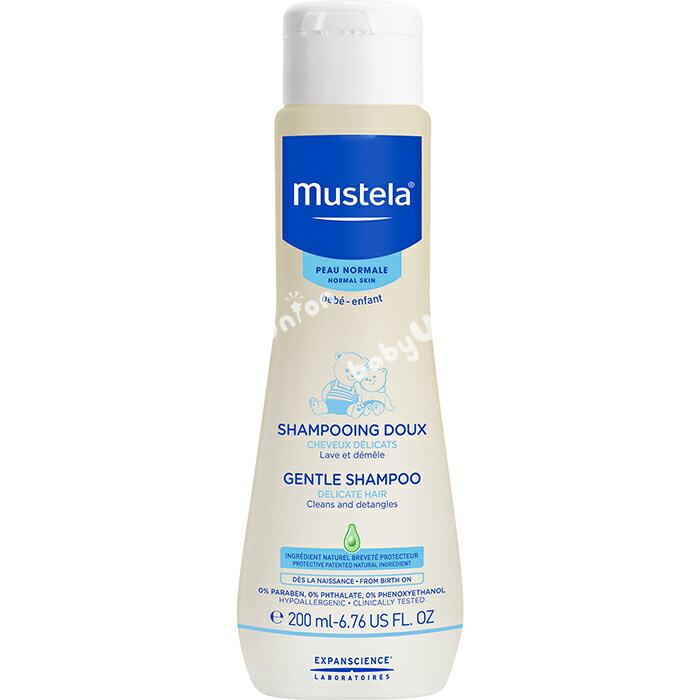 Mustela慕之恬廊 - 慕之幼 溫和潔髮露 200ml - 限時優惠好康折扣