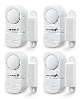 Deals on 4-Pack Fosmon Wireless Window/door Alarm Sensors With 2 Chimes