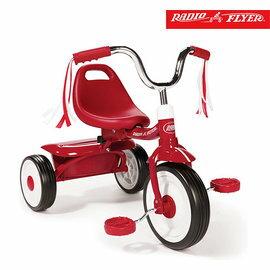 美國【RadioFlyer】紅騎士折疊三輪車(彎把)