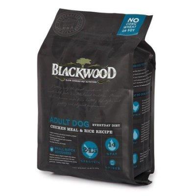 WDJ推薦 Blackwood 柏萊富天然寵糧 特調成犬活力配方(雞肉+糙米) 1LB/1磅