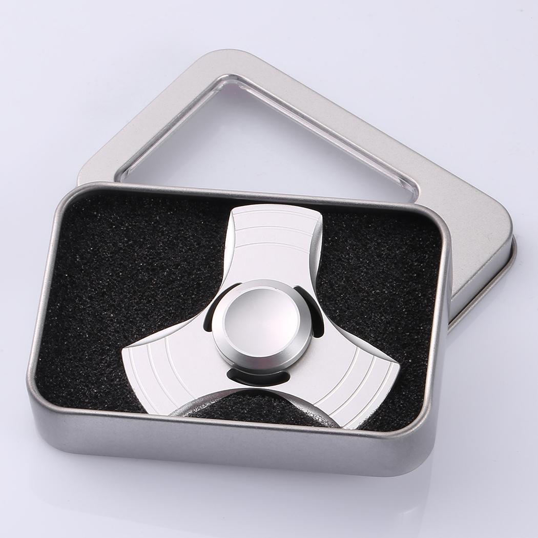 Glowing Hand Spinner 360 Tri Fidget Desk Stress Reducer EDC Focus Toy 5