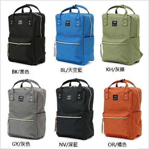 日本anello  /  獨特混色帆布後背包 / 大容量 / 多夾層 /  AT-C1221。共6色-日本必買 日本樂天代購(4212*0.7) 1