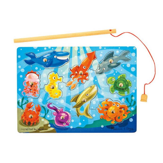 ~華森葳兒童教玩具~拼圖教具系列~磁性海洋釣魚 N7~3778