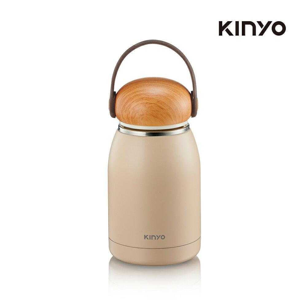 kinyo 不鏽鋼隨行保溫杯320ML-白KIM-31W-生活工場