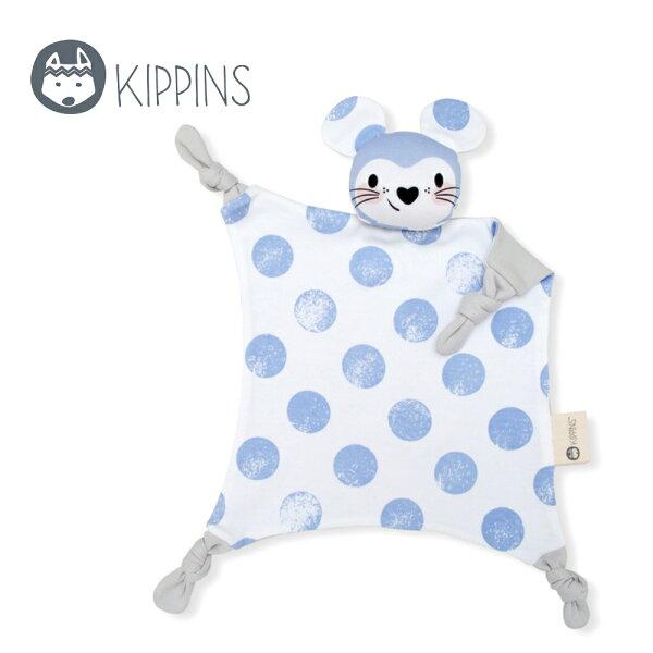 YODEE 優迪嚴選:Kippins澳洲有機棉安撫巾動物造型安撫巾–點點小老鼠LunaKippin