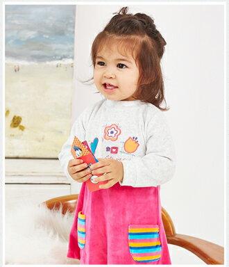 ☆Babybol☆女童冬裝保暖兩件套, 套裝包含(上衣,褲襪)【24101】 2