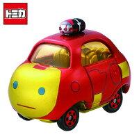 漫威英雄Marvel 周邊商品推薦【日本正版】TOMICA 多美小汽車 TSUM TSUM 漫威英雄 鋼鐵人 TOP 玩具車 MARVEL - 877424