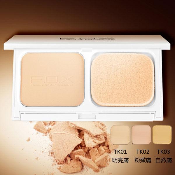 F.O.X 時尚完美彩妝 凝脂親膚保濕兩用粉餅 SPF30 12g 《Belle倍莉小鋪》