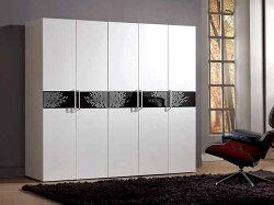 【尚品家具】CM-126-1 波爾卡6.8尺組合衣櫥(全組)