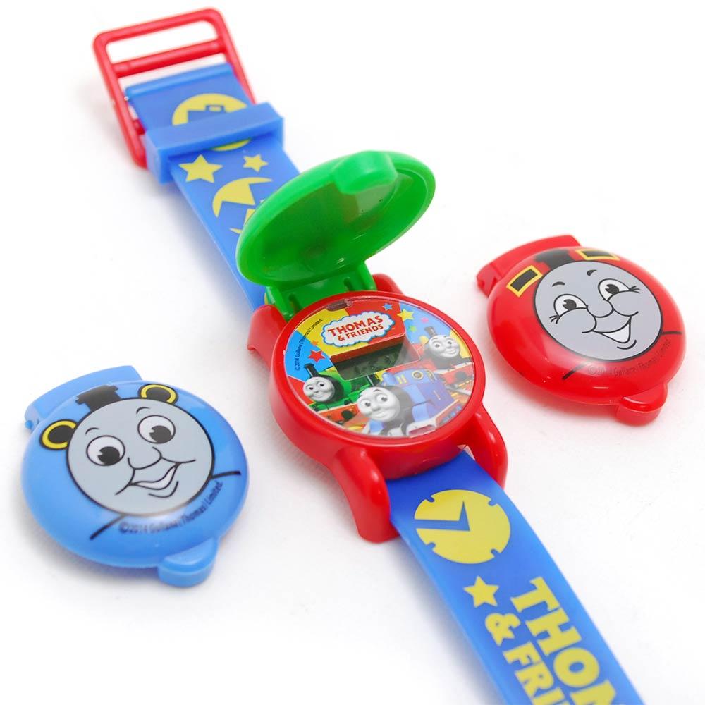 ~真愛 ~15061500001 兒童電子錶~可換錶蓋藍 THOMAS   FRIENDS